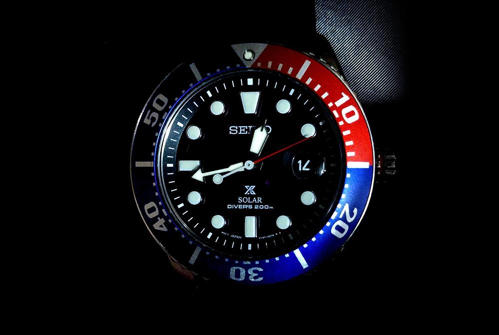 reloj divers seiko prospex modelo SNE439P1