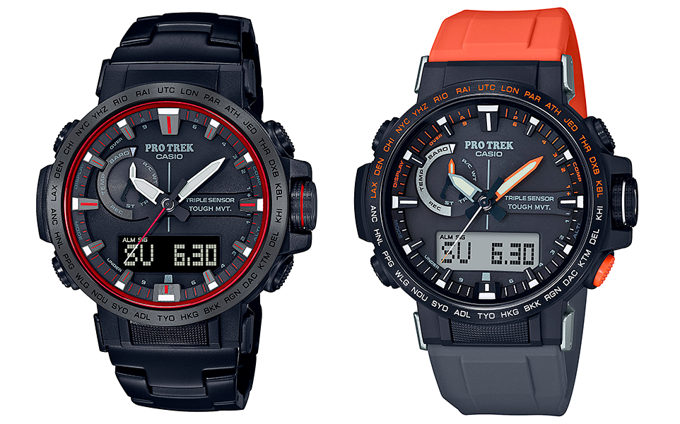 novedad 2021 reloj casio pro-trek referencia PRW-60YT-1