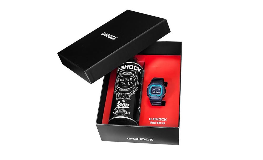 GW-B5600-2ER-FR Casio G-Shock reloj de moda