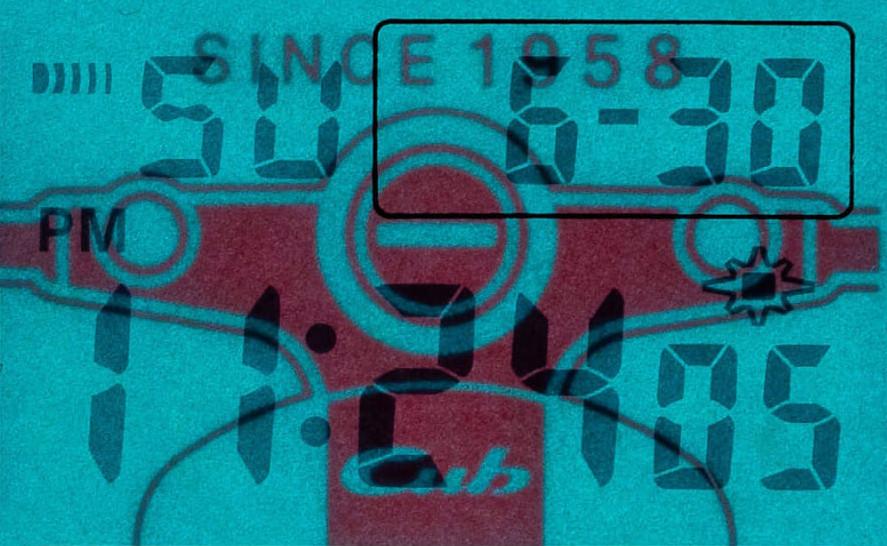 reloj G-SHock edición limitada Honda Cub 60TH refreencia DW-5600VT