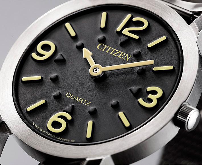 AC2200-55E reloj especial para personas ceigas creado por Citizen