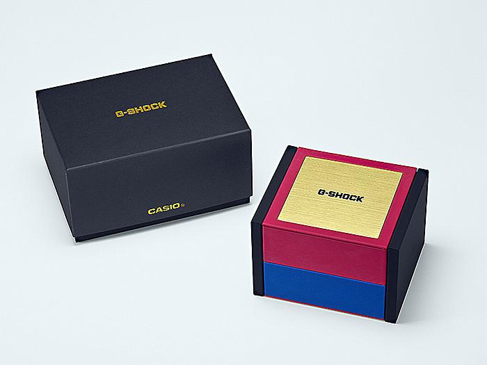 caja reloj novedad g-shock titanio zafiro GMW-B5000TR-9