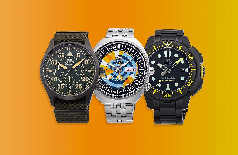 3 relojes orient novedad 2021 que debes conocer