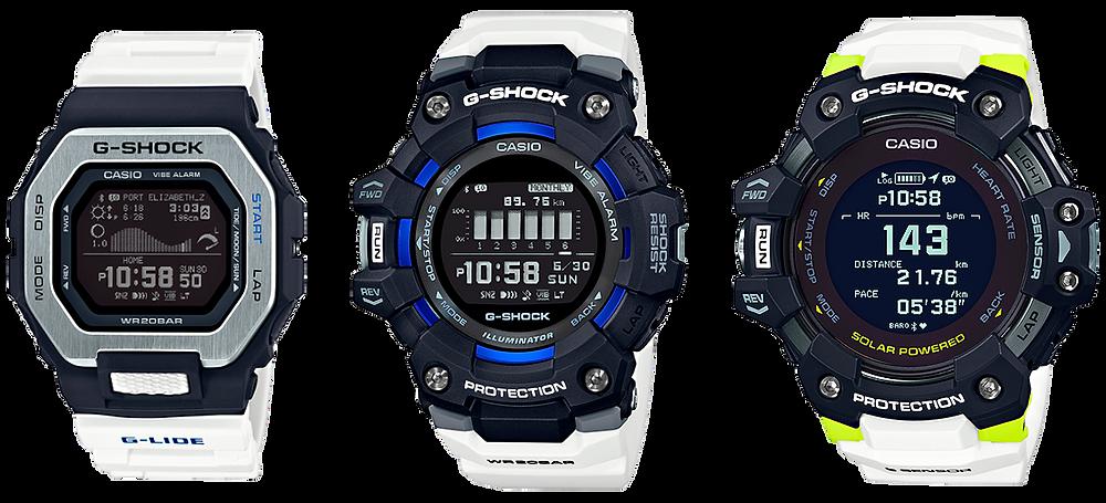 nuevos relojes deportivos 2020 modelos gbx100, gbd100, gbdh1000
