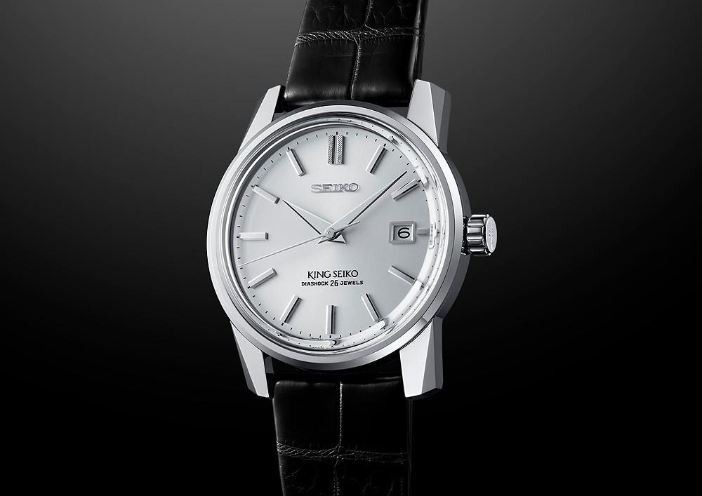 detalle reloj seiko king seiko ksk modelo SJE083