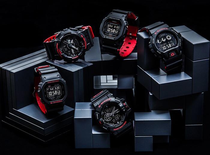 G-Shock serie Black Red edicion especial