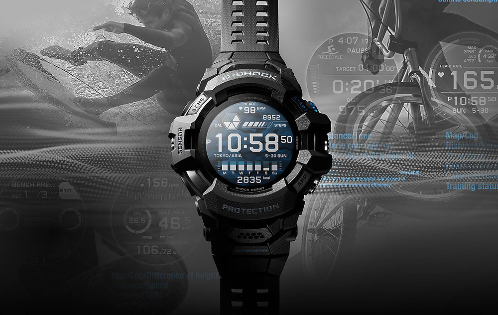 GSW-H1000 primer smartwatch de casio g-shock