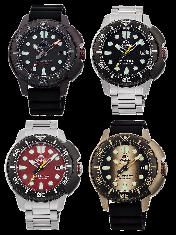 todos los relojes divers orient m force 2021 RA-AC0L0