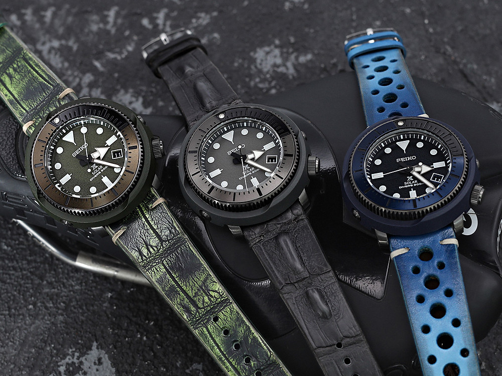 Seiko Street Series prospex y solar nuevos relojes personalizables