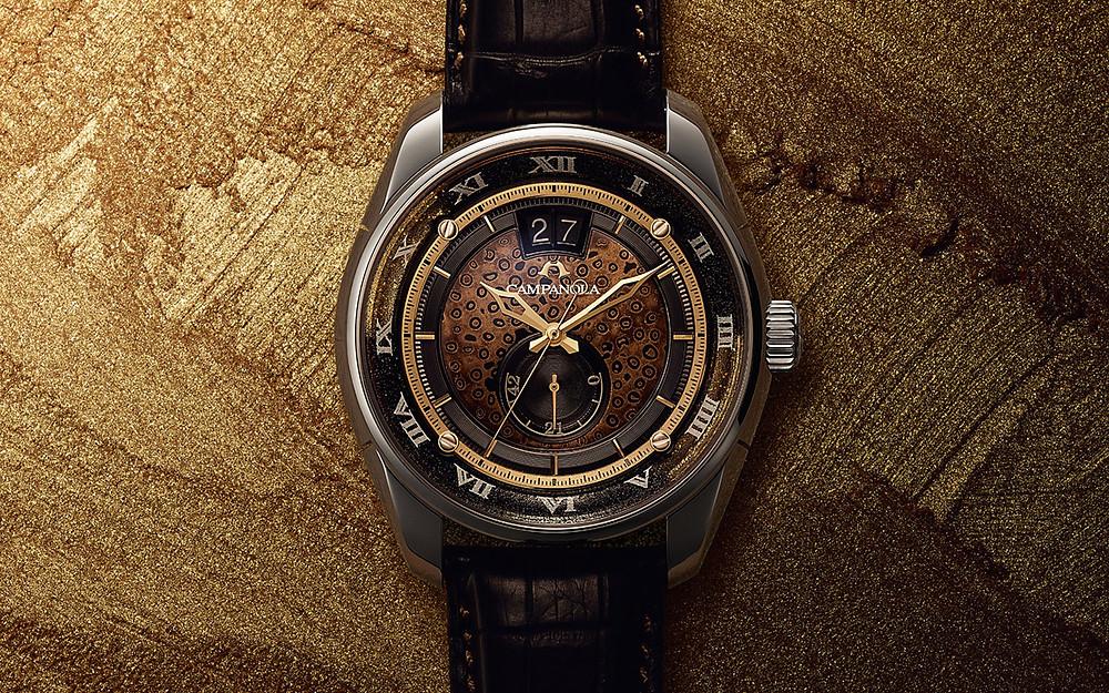 Reloj lujo Campanola edicion limitada Ayamekin NZ0001-04E calibre automatico Y513