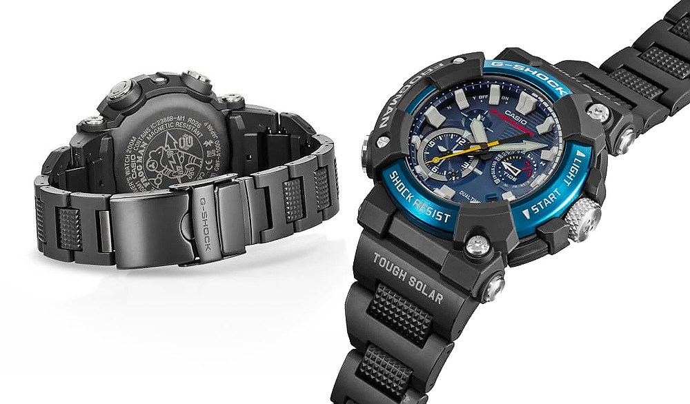 detalle reloj diver's de casio G-Shock GWF-A1000XC-1A