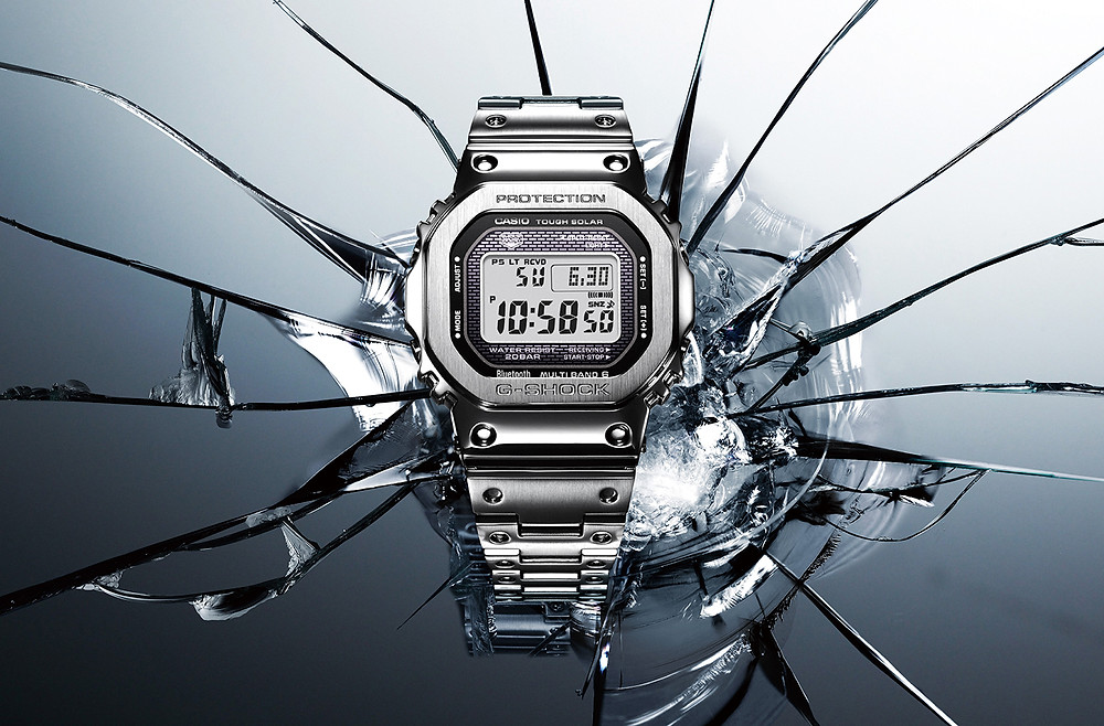Reloj full metal G-Shock 2019-2019 GMW-B5000 tecnologia bluetooth
