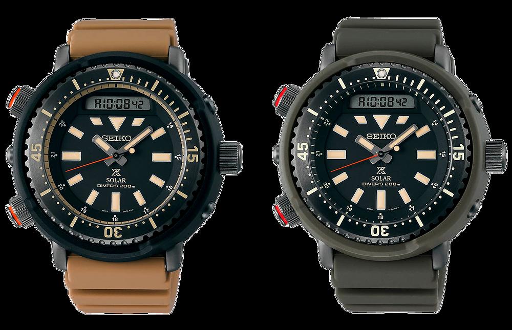reloj seiko del año 2020 en España: Prospex Arnie Safari SNJ031 y SNJ029