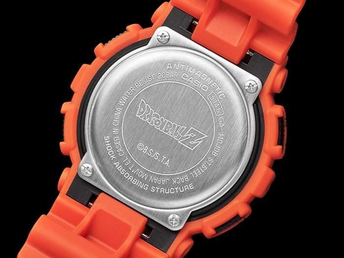 GA-110JDB-1A4 reloj edicion limitada dragon ball z x g-shock