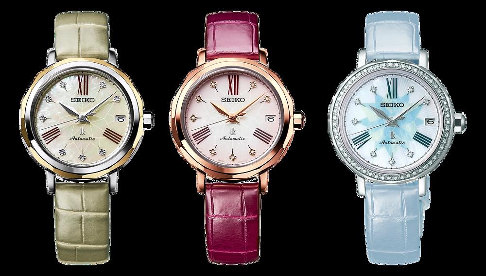 Reloj Seiko Lukia con diamantes en bisel modelo SPB141