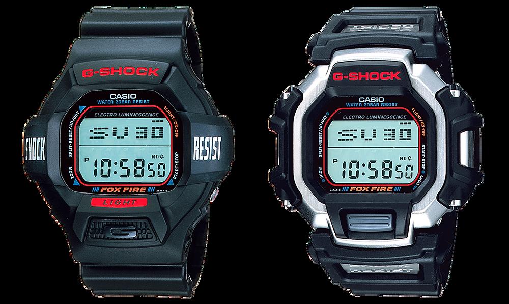 Relojes Casio G-SHOCK modelos DW-8020 y DW-8120 con módulo 1433