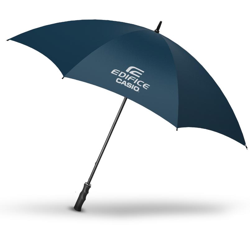 regalo paraguas edifice con la compra de reloj casio en abril