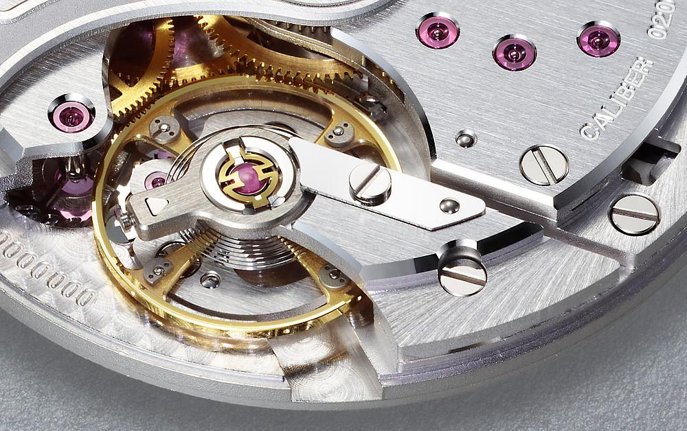 detalle mecanismo automatico 0200 de citizen watch