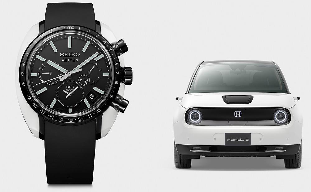 Honda e x Seiko Astron edición limitada SBXC075 2020