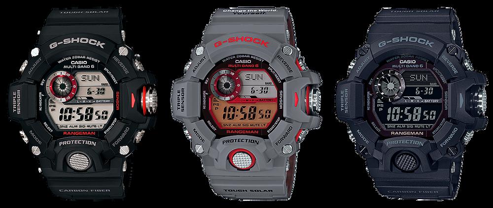 Rangeman GW-9400 mejor G-Shock de la historia