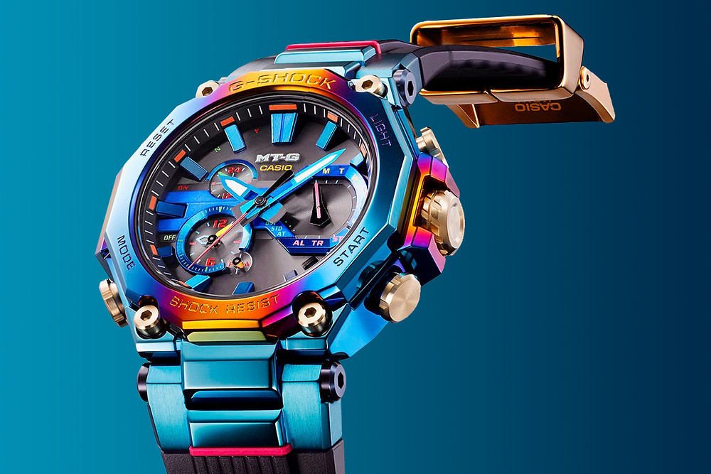 reloj alta gama japones de casio G-Shock MTG-B2000PH-2AER