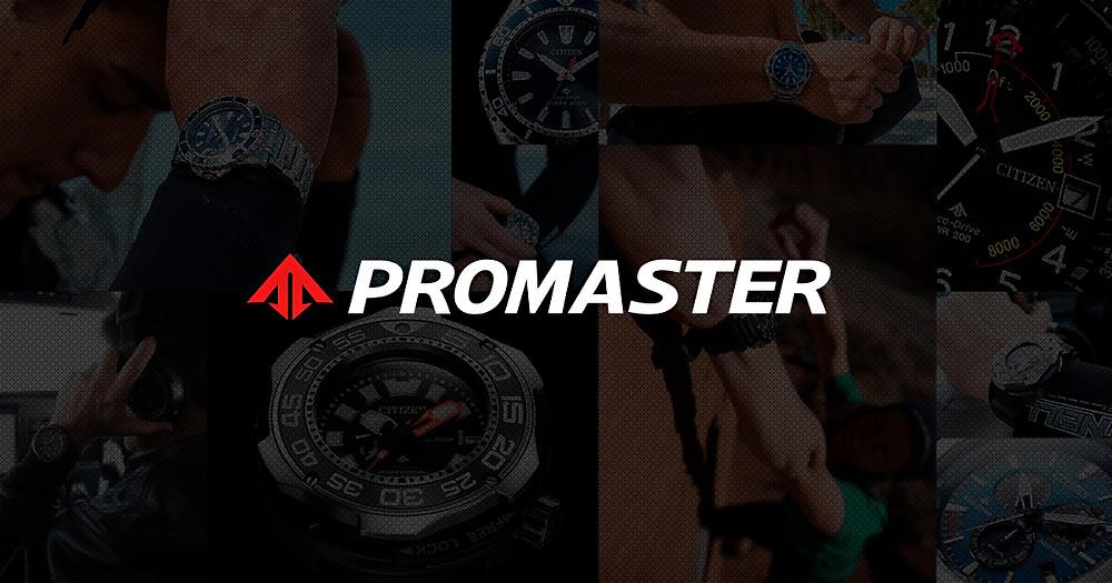 logotipo relojes promaster japoneses relojes especiales