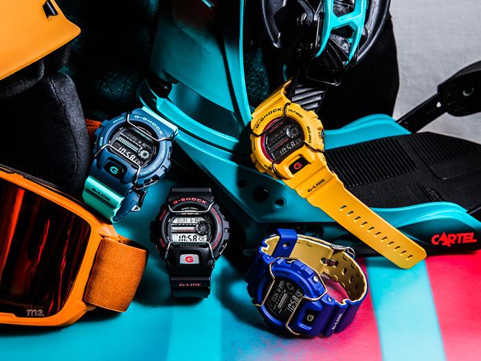 Colección GLS de Casio G-Shock, relojes  de moda