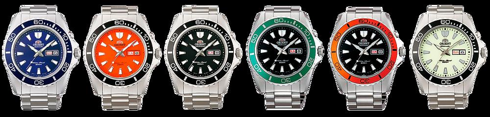 todo los relojes orient mako xl 44mm automaticos EM7500