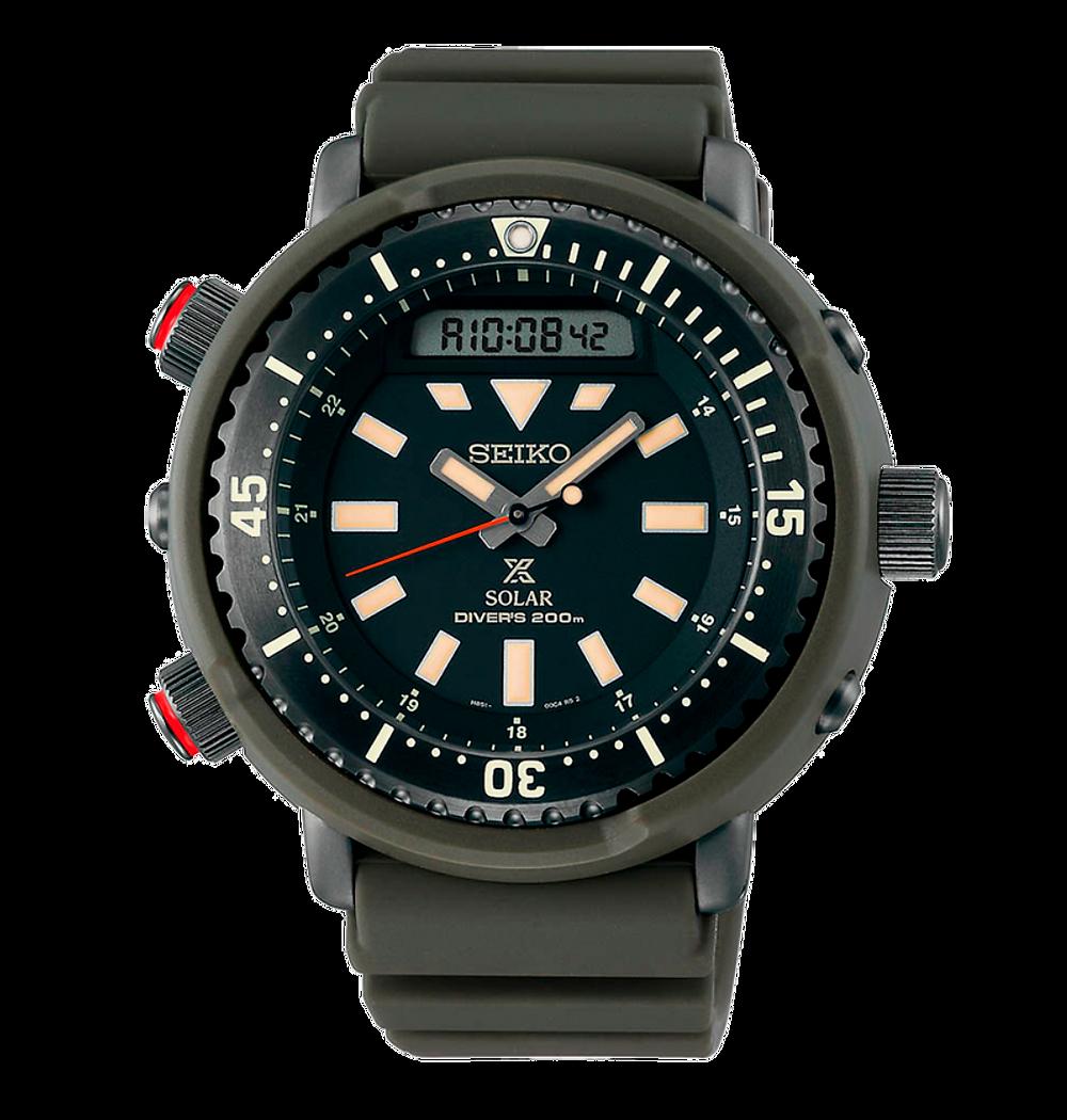 reloj Seiko Prospex Urban Safari  SNJ031, reinterpretacion icónico Arnie H558-5009