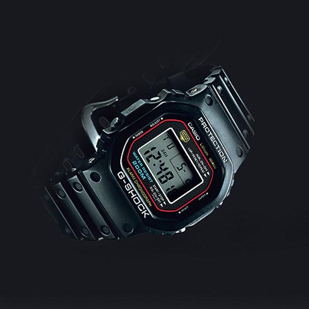 DW-5000C-1A primer reloj g-shock 1983