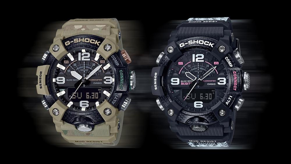 relojes G-Shock GG-B100BTN-1AER y GG-B100BA-1A