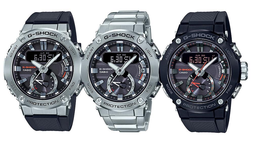 Nuevos relojes G-SHOCK G-Steel GST-B200 2019