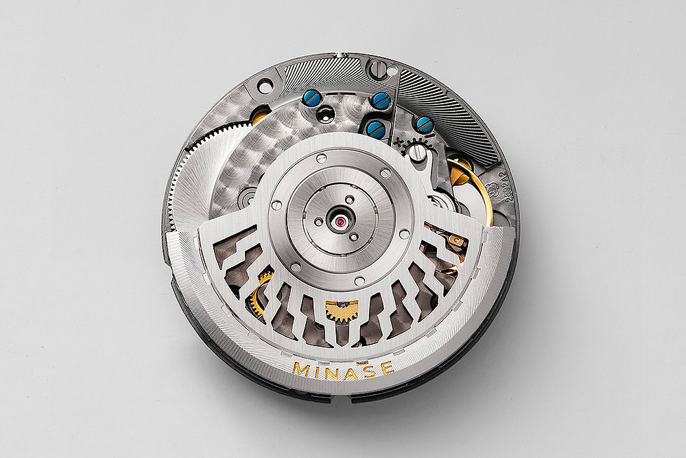 calibre automatico relojes japoneses de lujo minase kt7702