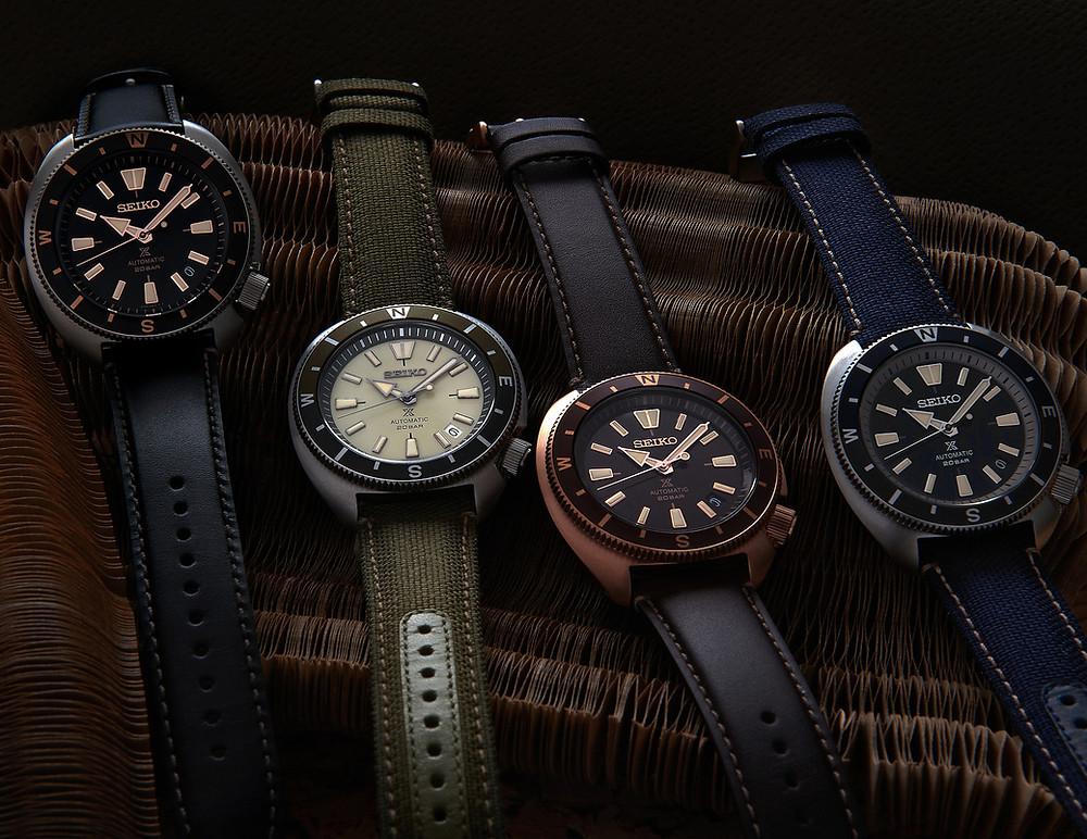 4 nuevos relojes seiko prospex land tourtoise 2021