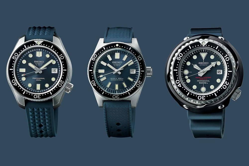 55 aniversario primer reloj diver's de Seiko Japón