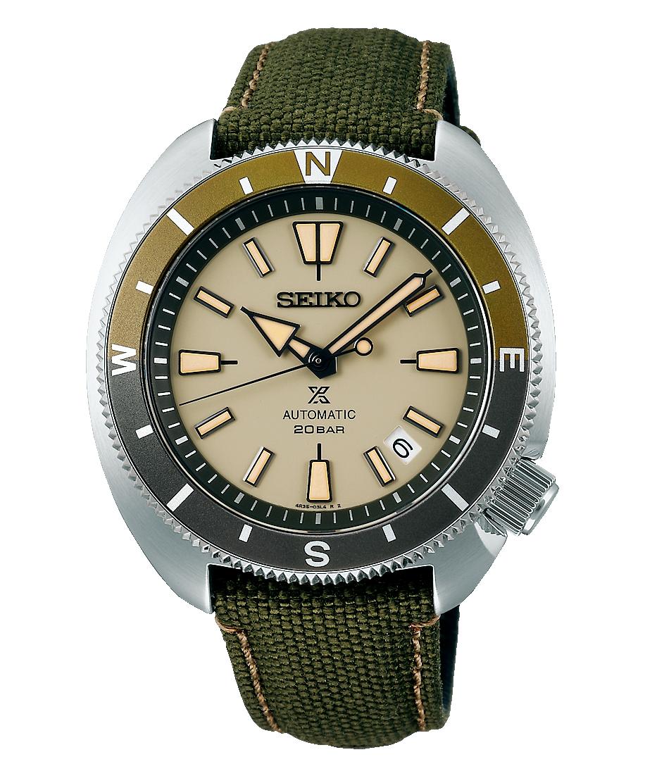 novedad mayo 2021 reloj seiko prospex land SRPG13K1