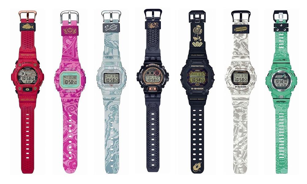 g-shock-shichi-fuku-jin-edicion-limitada-2018-2019-con-7-modelos-distintos-de-relojes