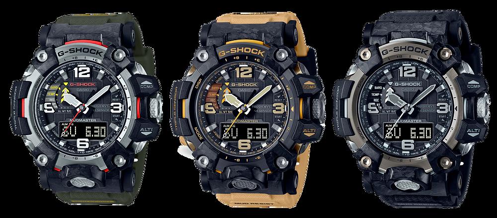 nuevos relojes para supervivencia g-Shock Mudmaster serie GWG-2000