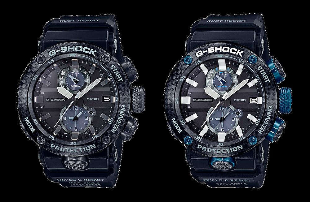 Nuevos relojes G-Shock Gravitymaster de carbono GWR-B1000