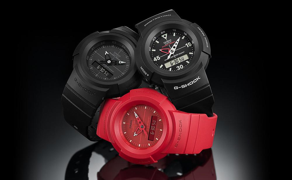 tres colores nuevo reloj aw500 reedicion 1989