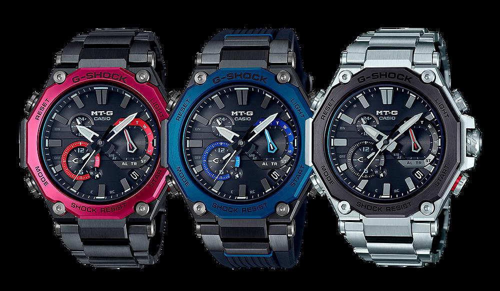 Nuevos relojes MTG referencia MTG-B2000 bluetooth solares multiband6