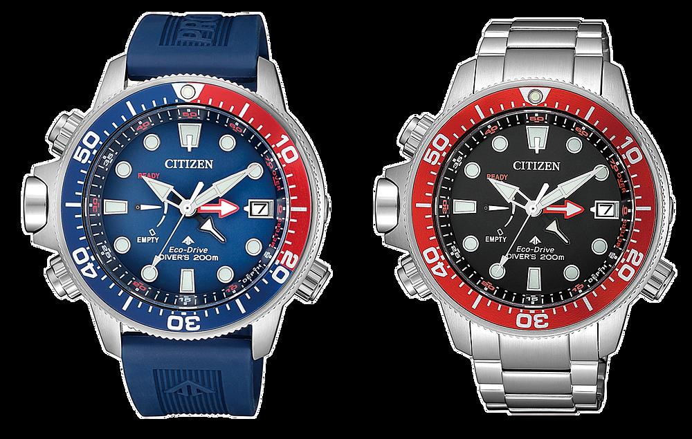 Reloj japones Citizen Promaster eco-drive aqualand BN2038-01L