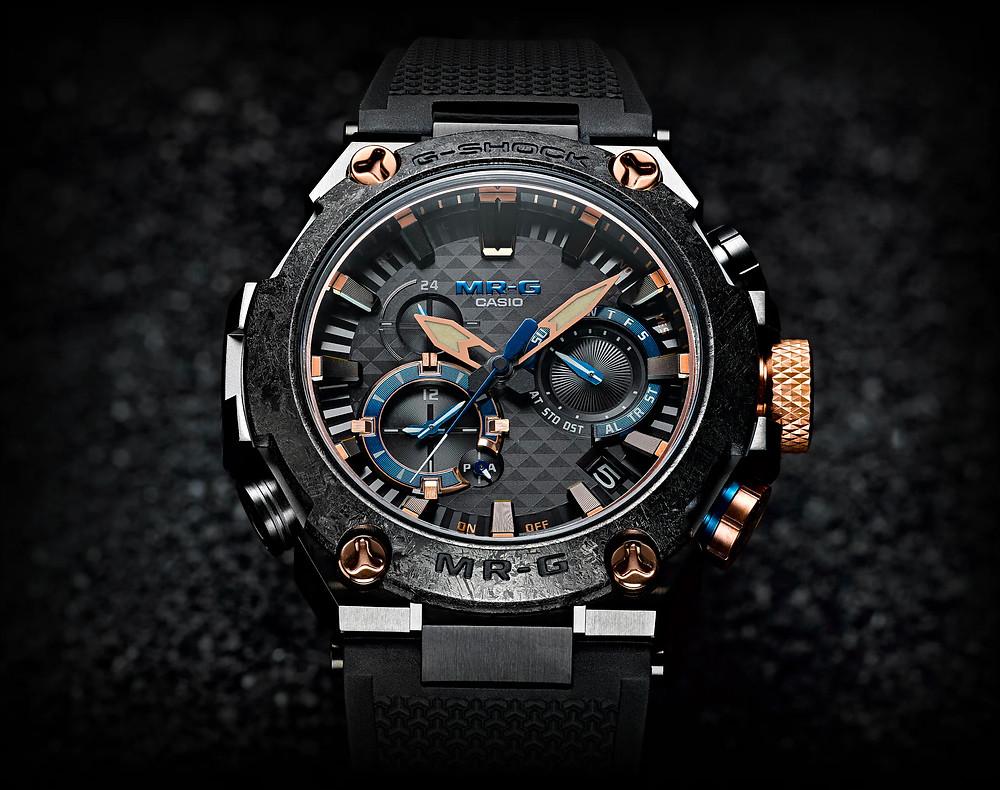 nuevos relojes premium Casio MR-G Kachi-iro de edición 2021
