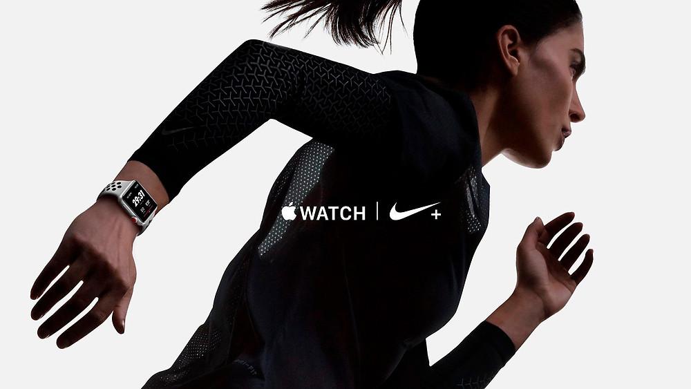 publicidad Nike para el Apple Watch