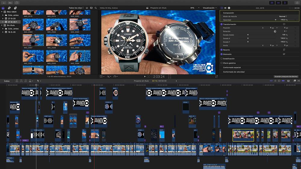 Videoreview del reloj Diver's de Citizen Promaster, el Aqualand serie bn203