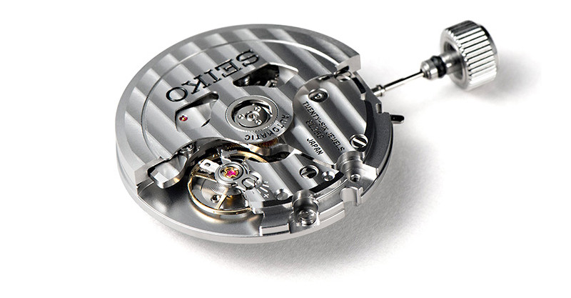 calibre automático 8L35 reloj seiko prospex marinemaster 300m sla047j1