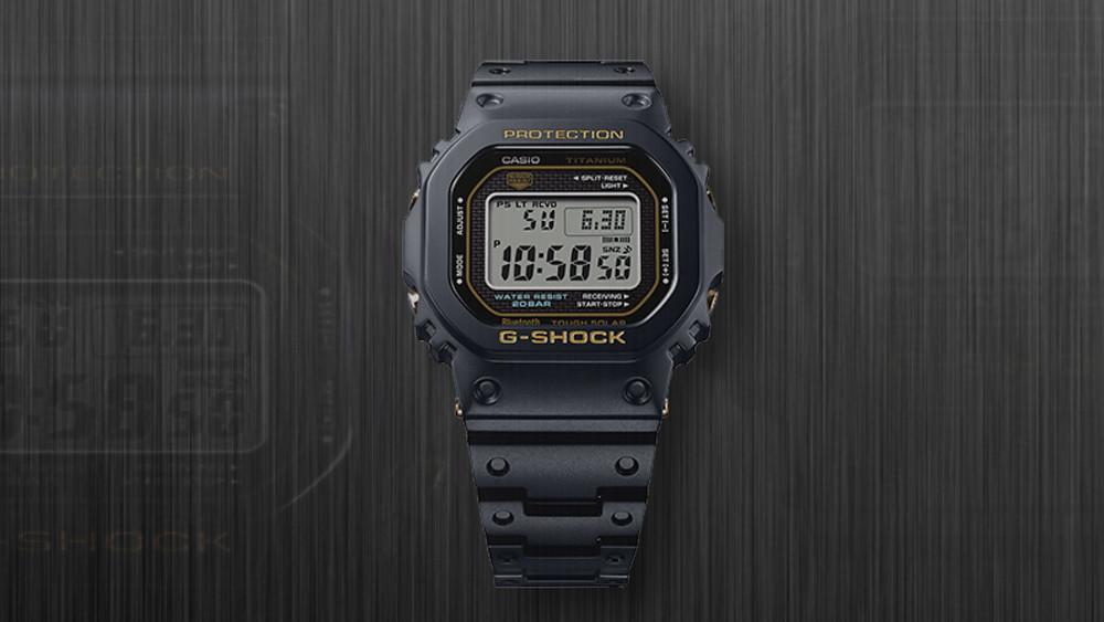 Novedad reloj G-Shock titanio zafiro GMW-B5000TB