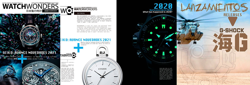 libro watchwonders anuario resumen relojes japoneses 2020 y avance novedades 2021
