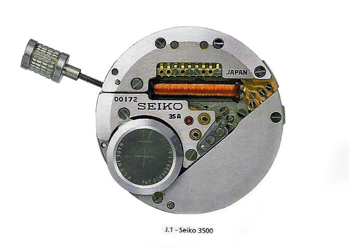 Primer reloj del mundo de cuarzo de muñeca fabricado por Seiko