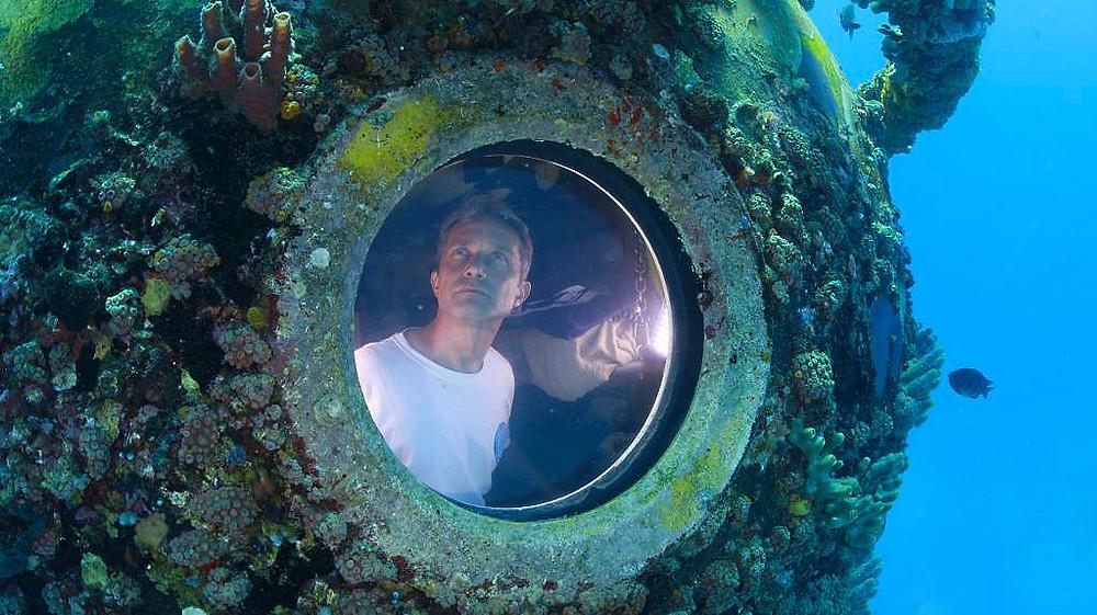 Fabien Cousteau con relojes seiko prospex